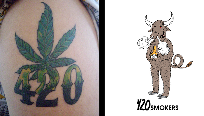 Top 10 Best Cannabis Tattoo Ideas for Stoners | 420Smokers.us