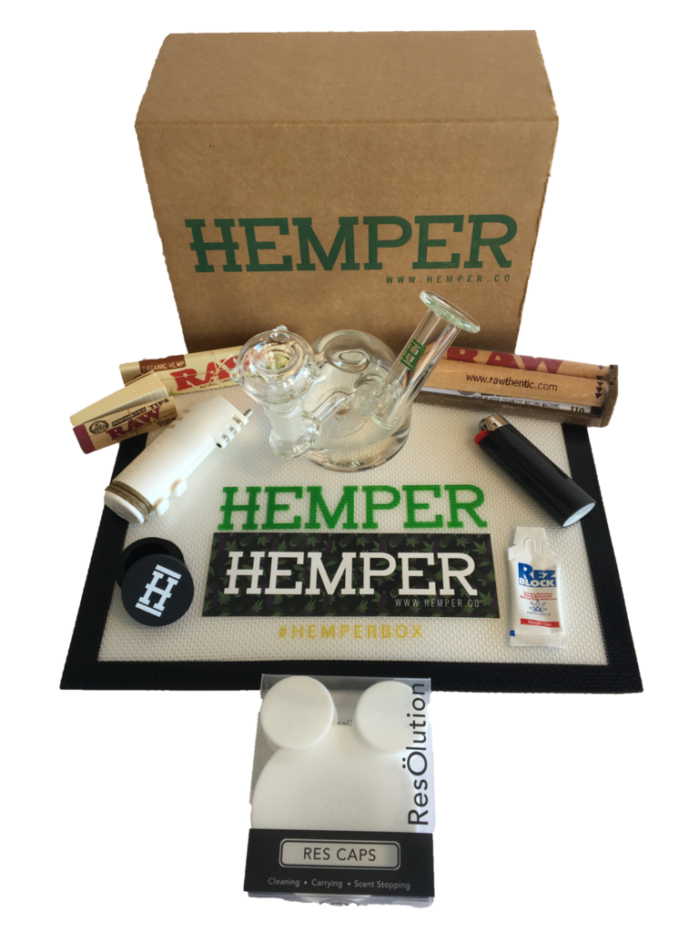 Hemper Glassentials – Monthly Box of Smoking Essentials