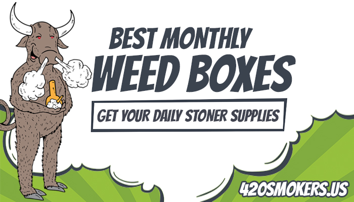 Best Subscription Box Guide For Stoners Monthly:   420Smokers us