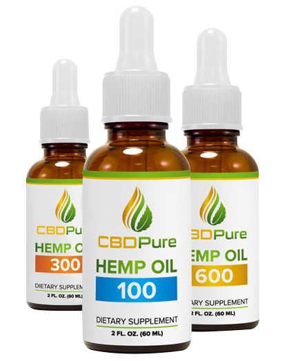 CBD pure - A simplified range of high-quality CBD oil