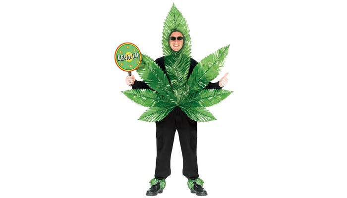 Ultimate weed costumes for halloween 420smokers you may set yourself in a simple outlook of the cannabis international symbol it will not sound that bad if you risk being the only leaf at the halloween solutioingenieria Choice Image