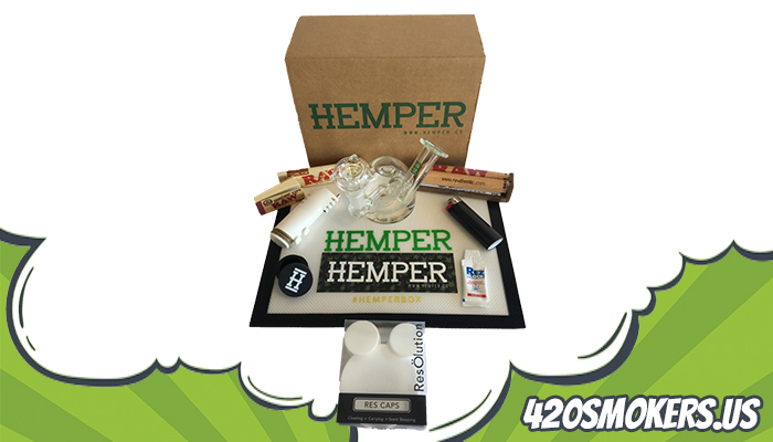 monthly hemper cannabis box