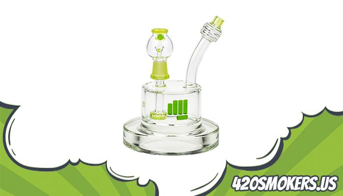 pounds spaceship vapor bubbler full review